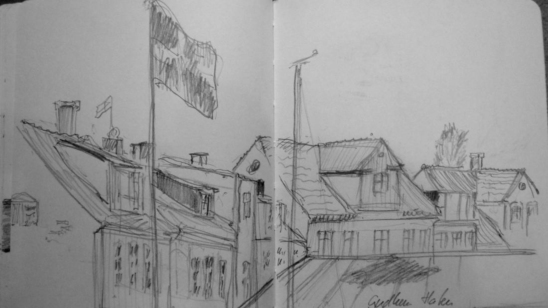 Bild Urban Sketching